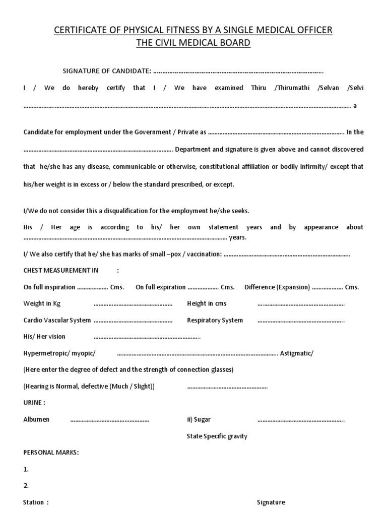 Medical Certificate Format Sample Medical Certificate 27 – Medical Certificate Format