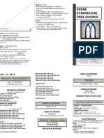 Church Bulletin -June 17th