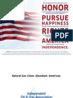 IOGA NY Flag Day 2012 Postcard
