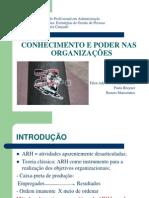 Trabalho de EGP Conhecimento e Poder Nas ORG 17 06 11