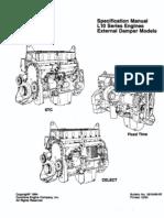 3810498 Specifications Manual l10 Series Engines External Damper Models