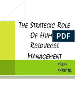Strategic Role of HRM 2007