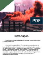 Poluição e riscos ambientais na Alemanha actual