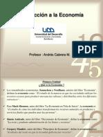 Sesion Unidad 1 - Problema Economico