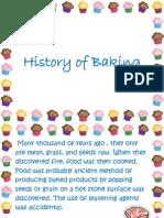 History of Baking