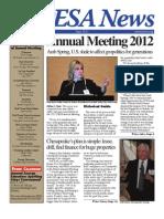 PESA News Summer 2012