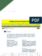 Formulacion de Proyectos Comunitarios25!03!09