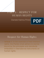 Research Respect for Human Rights