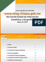 Reporte Sitio Web CEIEG Mayo