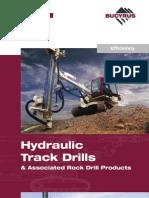 Brochure Track Drills Bucyrus