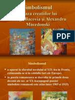 Simbolismul in baza operelor lui george bacovia si alexandru macedonski
