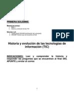 Historia y evolución de las tecnologías de información