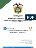 Manual de Acreditación Ambulatorio y Hospitalario Completo