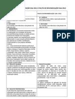 COMPARAÇÃO CONVENÇÃO EAA 2011 E PAUTA DE REIVINDICAÇÃO EAA 2012