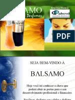 Apresentacao Balsamo Perfumes