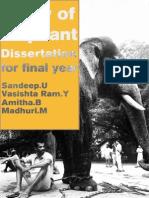 Elephant Dissertation