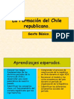 La Formacion Del Chile Republicano