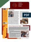 Tumaini Spring 2012 Newsletter