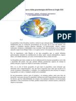 La Geopolítica y la nueva visión geoestratégica del Perú en el siglo