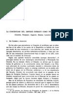 Isidoro Munioz Valle - La Concepcion Del Imperio Romano Como Principado Corregido 1