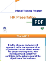 Cross Functional Trg - HR Presentation - Final