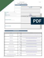Formato de Perfil de Puestos en Excel