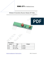 RWS-371!6!433.92MHz ASK RF Receiver Module Data Sheet
