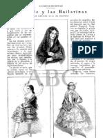 Bailarinas Bolero Flamencas