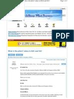 MAS & SIA Pilot Pay Comparison