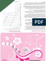 Calendario Menstrual 2012 Mapelsa