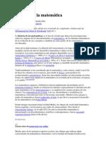 Historia de la matemática y 20 Biografias