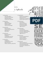 Pemsun - Licenciatura en Economía Aplicada / UCA
