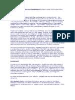 Condition Based Maintenance Gap Analysis