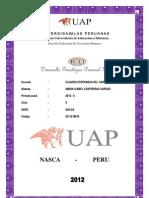 Desarrollo Psicologico Personal II- 2011218879 Maria Isabel Contreras Vargas