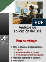 DIH - Ámbitos de aplicación