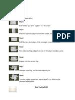 Copy of Napkin Folds