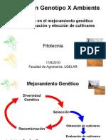 Interaccion Genotipo-Ambiente