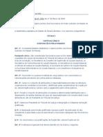 regime jurídico dos funcionários do Poder Judiciário do Estado do Paraná.