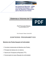 4. Sistema e Volume de Controle