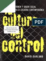 Garland - A Cultura Do Controle (Esp)