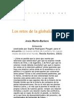 Los retos de la globalización - Entrevista para R. Número