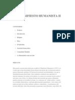Manifiesto Humanista II