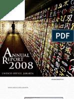 Unesco Annual Report 2008