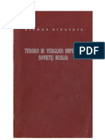 TERORO IR VERGIJOS IMPERIJA SOVIETŲ RUSIJA. Kipras Bielinis