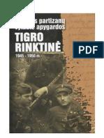 LIETUVOS PARTIZANŲ  VYTAUTO APYGARDOS TIGRO RINKTINĖ