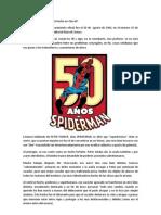 50 años de Spiderman