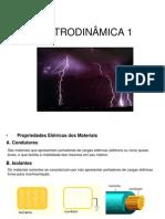 ELETRODINÂMICA 1