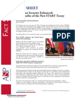 The Benefits of the New START Treaty-  Factsheet
