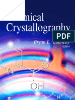 Chemical Crystallography (2010)