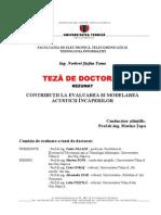 Teza de Doctorat Acustica